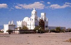 papago indian reservation_San Xavier Mission