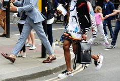 Tommy Ton Shoots Street Style at the London Men's Collections