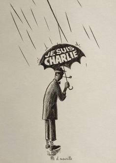 DAVID MERVEILLE ~ Je Suis, Charlie