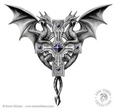 Anne Stokes' jewelry project.