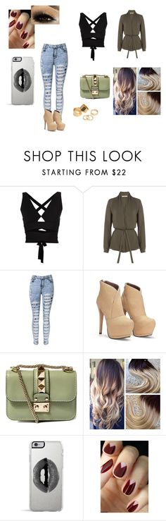 """""""Untitled #211"""" by mackenziekorth on Polyvore featuring Proenza Schouler, Etro, Valentino, Lipsy and Pieces"""