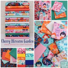 Wendy Kendall - Cherry Blossom Garden