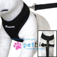 Round-Loop-Harness, Hundegeschirr - Mesh Black - Round-Loop-Harness, Hundegeschirr - Mesh Black Die Geschirre sind aus Polyester gearbeitet, sehr chic und mal etwas ganz anderes!