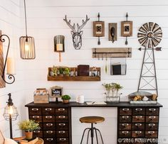 Industrial goes urban farmhouse in this swoon-worthy space!