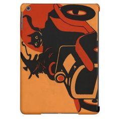 Witch Black Cat Car Full Moon iPad Air Case