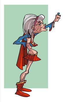 Retired SuperGirl
