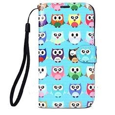 This Owls Full Body Cases with Stand for Samsung S5 I9600 offers your Samsung S5 a high wearing comfort for the device and protects it from all sides against scratches, dirt and minor impact damage from falling down. Get it to experience this beautiful and awesome case today. This wallet case stays inside for further protection of your Samsung Galaxy S5.