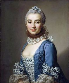 Stomacher is the floral triangle that fills in the bodice between the solid blue of this dress. - Wikipedia, the free encyclopedia