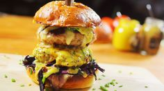 Nutella, Hamburger, Sushi, Bacon, Healthy Recipes, Healthy Food, Chicken, Cooking, Ethnic Recipes