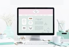 Ma Vie en Rose - Branding (website)
