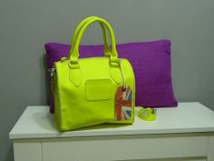 PEPE JEANS LONDON Bolso NEON fluo bag bowling