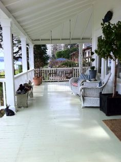Covered Porch Ceiling