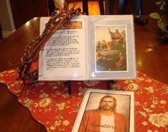 Christs last days Easter lesson with 4x6 book including pictures, scriptures, songs, etc.
