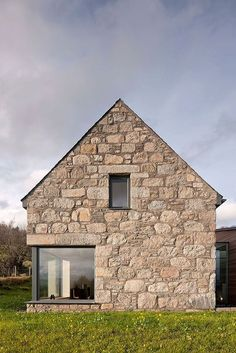 Extreior of the Highlands home in granite and whinstone: