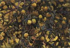 Zinaida Serebriakova - Apples on the branches, 1910