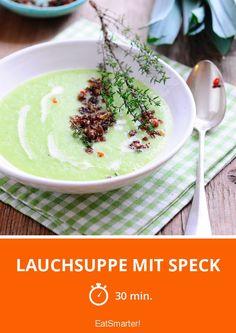 Lauchsuppe mit Speck - smarter - Zeit: 30 Min. | eatsmarter.de