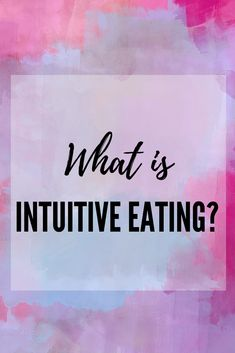What is intuitive eating? Intuitive eating is going back to your roots and learning to trust your body. Holistic Care, Holistic Nutrition, Natural Body Detox, Healthy Green Smoothies, Positive Body Image, Learning To Trust, Take Care Of Your Body, Intuitive Eating, Mindful Eating