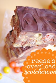 Reese's Overload Scotcheroos - Something Swanky