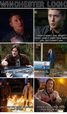 supernatural logic.