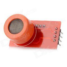 MQ3 High Sensitivity Alcohol Detector Sensor Module - Red, free shipping, $6.80.