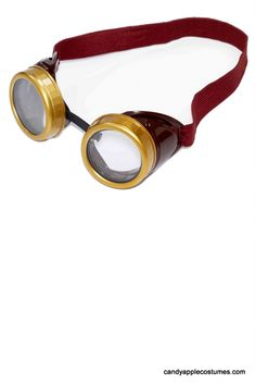 Steampunk Brown Goggles - Candy Apple Costumes