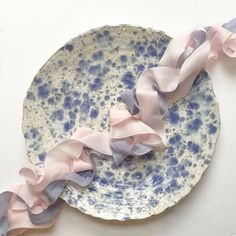 || Rose Quartz & Serenity Blue || We love @pompomblossom and... #wedding #weddings
