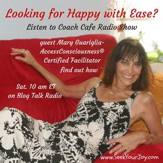 My Interview on Sat 4/2/16 at 10 am ET..How To Access Your Consciousness with Mary Guariglia