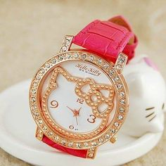 ✿☮✝★ Hello Kitty Watch ✝☯★☮