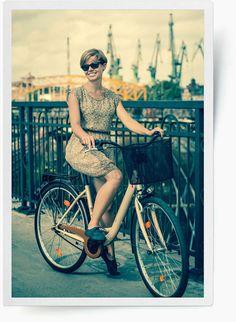 Gdańska moda na rower / #Gdansk #fashion on a #bike
