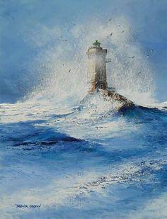 La Bretagne, paysages contés par l'Artiste Franck Carron, l'artiste impressionniste du XXI siècle