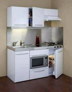 Art Tiny House, Tiny House   Compact Kitchen Tiny Homes *** Nice, But I  Personally Donu0027t Care For The Microwave And Frig Being Do Low.