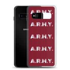 BTS A.R.M.Y Premium Korean Samsung Galaxy Case #korean #kpop #bts Korean Phone Cases, K Pop Music, Children In Need, Samsung Galaxy, Army, Bts, Kpop, Logo, Gi Joe