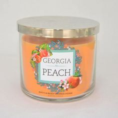 Bougie parfumée 3 mèches GEORGIA PEACH Bath and Body Works