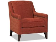 "Sergei comes standard with a deluxe seat cushion and -7B nailhead trim. 30.5""w x36""d x 35""h"