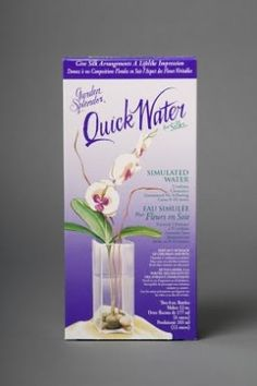 Quick Water is the absolute best when it comes to artificial water. Mixed the same way and will not turn yellow, even when exposed to UV rays from the sun. This is slightly more expensive that your acrylic water but for long term use it's the best. Fake Flower Centerpieces, Diy Silk Flower Arrangements, Artificial Flower Arrangements, Artificial Flowers, Wedding Centerpieces, Acrylic Flowers, Resin Flowers, Faux Flowers, Silk Flowers