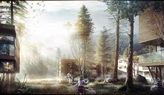Architectural renderings from CLOG 4