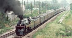 N&W J Series 611 excursion train, 1980's...