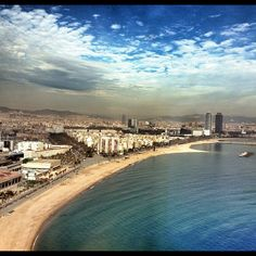Gorgeous View of Barcelona from W Barcelona