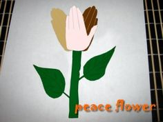How to Make a Peace Handprints Flower