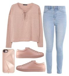 """""""Casual"""" by cbgzajunk ❤ liked on Polyvore featuring MANGO, Hollister Co., GUESS and Rebecca Minkoff"""