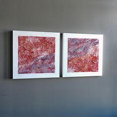 Mixed medium artwork created by Canadian artist M Degelman