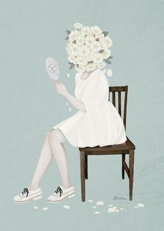 You are so Beautiful / 2014 / Digital Painting / ⓒ ENSEE - Choi Mi Kyung