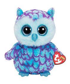 9185b0767b3 This Oscar the Blue Owl Beanie Boo is perfect!  zulilyfinds Ty Beanie Boos