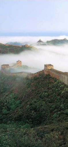 Definitely on the list is a visit to The Great Wall of China