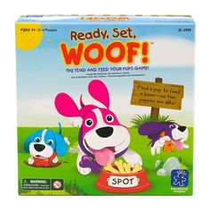 Educational Insights Ready, Set, Woof! Game, Multicolor
