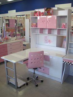 Madeline Storage Desk & Hutch | Pinterest | Desk hutch, Desks and ...