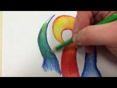 How to fade colored pencils from dark to light. How to overlay one color on top of another. How to create smooth, paint like, color transitions.