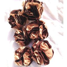 Chocolate Brown Carmel Tan Pom Poms by beautifulswagstore on Etsy, $6.00 #RT #promooasis #promoasis #RT