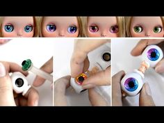 CUSTOMIZING A BLYTHE DOLL ~ episode 1 ~ CARVING tutorial - YouTube