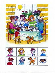 Find the picture - Encuentra la imágen Dyslexia Activities, Speech Therapy Activities, Montessori Activities, Preschool Math, Educational Activities, Activities For Kids, Such Und Find, Picture Writing Prompts, Hidden Pictures